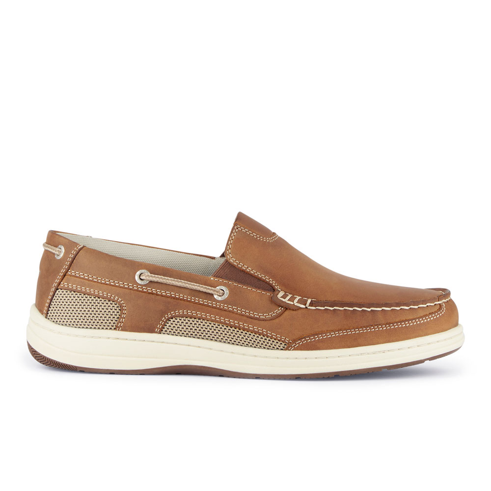 Dockers-Mens-Tiller-Leather-Casual-Slip-on-Loafer-Boat-Shoe-with-NeverWet thumbnail 12