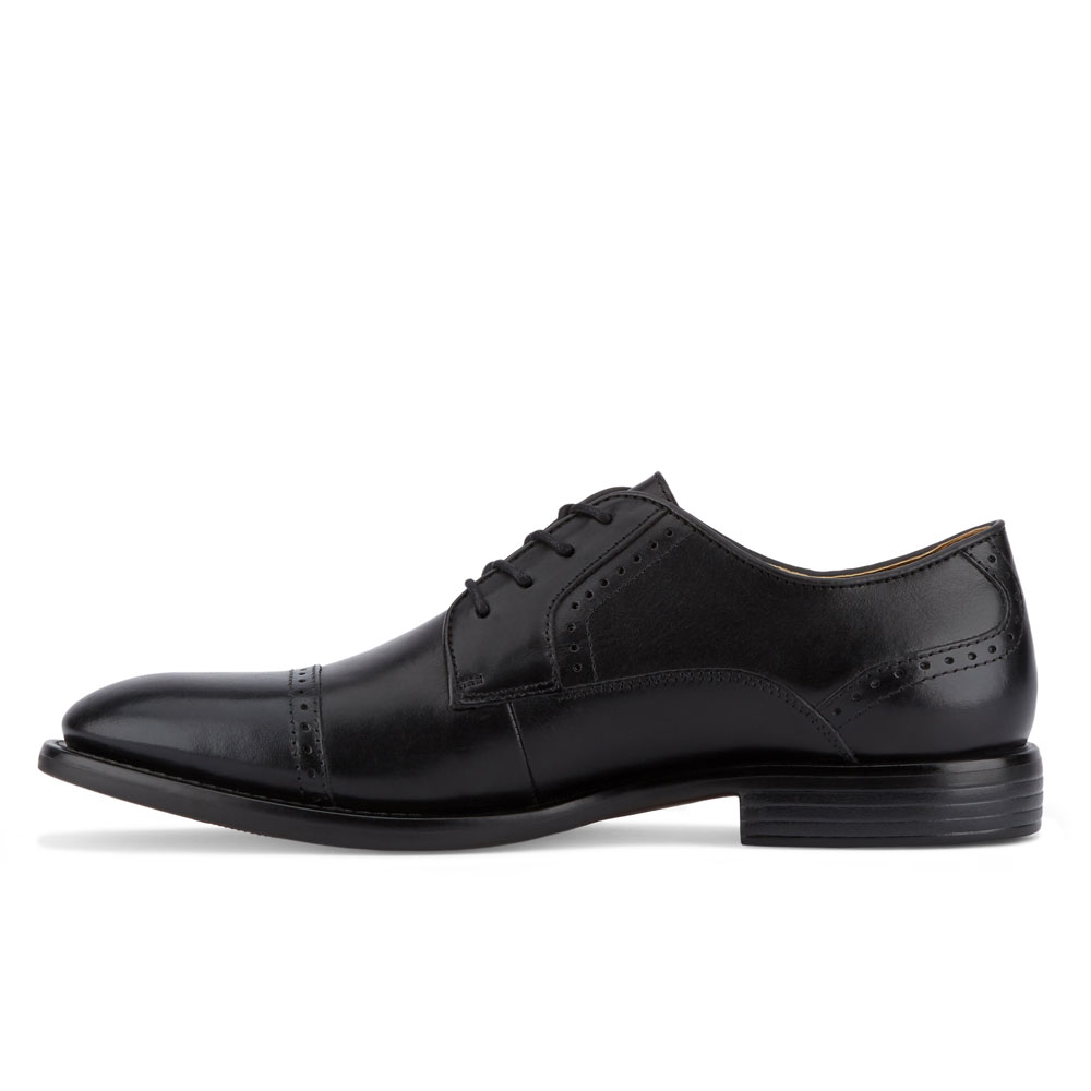 Dockers-Mens-Hawley-Genuine-Leather-Business-Dress-Cap-Toe-Lace-up-Oxford-Shoe thumbnail 11