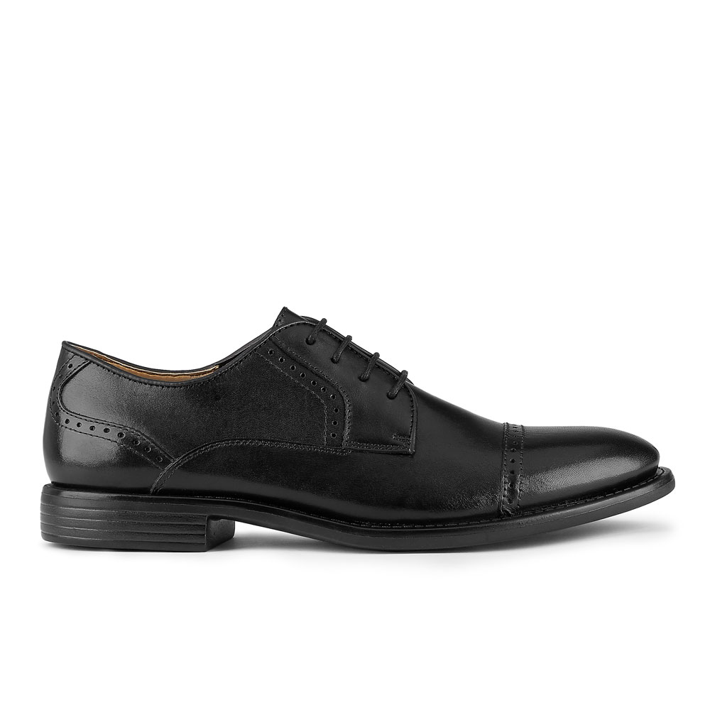Dockers-Mens-Hawley-Genuine-Leather-Business-Dress-Cap-Toe-Lace-up-Oxford-Shoe thumbnail 12