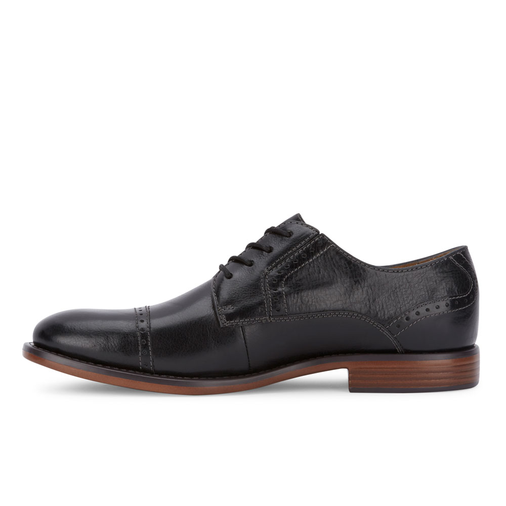 Dockers-Mens-Hawley-Genuine-Leather-Business-Dress-Cap-Toe-Lace-up-Oxford-Shoe thumbnail 17