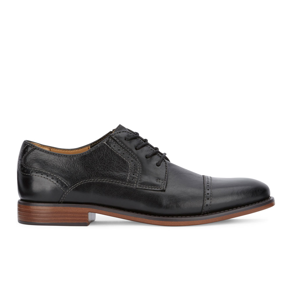 Dockers-Mens-Hawley-Genuine-Leather-Business-Dress-Cap-Toe-Lace-up-Oxford-Shoe thumbnail 18