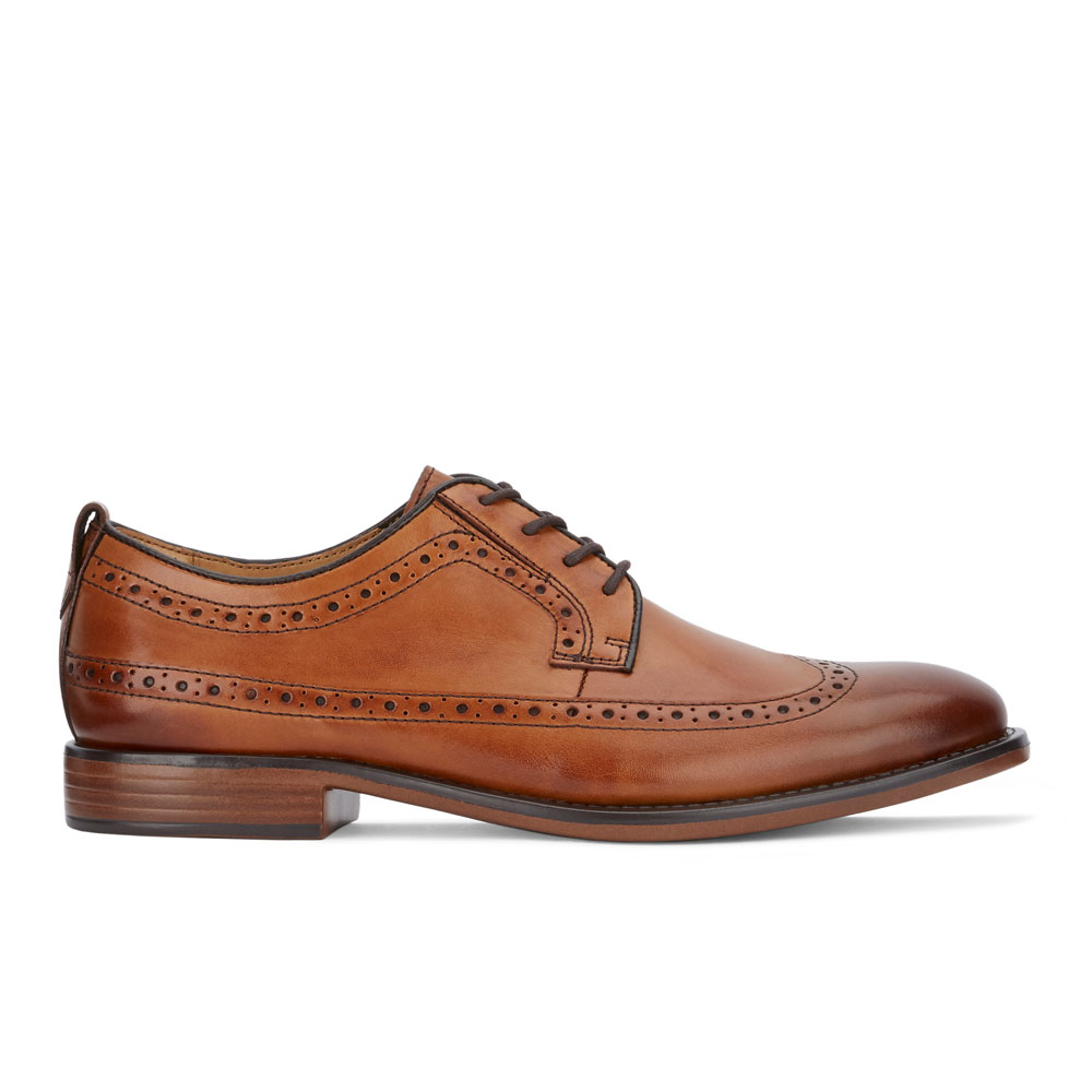 Dockers-Mens-Hausman-Genuine-Leather-Business-Dress-Wingtip-Lace-up-Oxford-Shoe thumbnail 12
