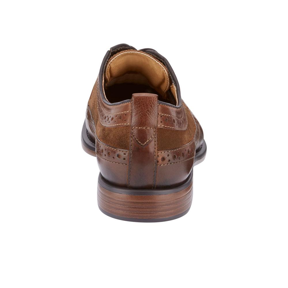 Dockers-Mens-Hausman-Genuine-Leather-Business-Dress-Wingtip-Lace-up-Oxford-Shoe thumbnail 15