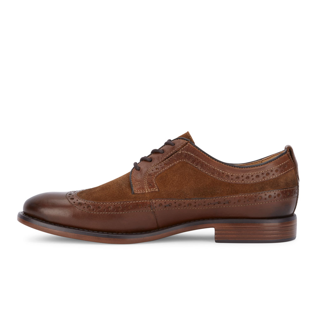 Dockers-Mens-Hausman-Genuine-Leather-Business-Dress-Wingtip-Lace-up-Oxford-Shoe thumbnail 17