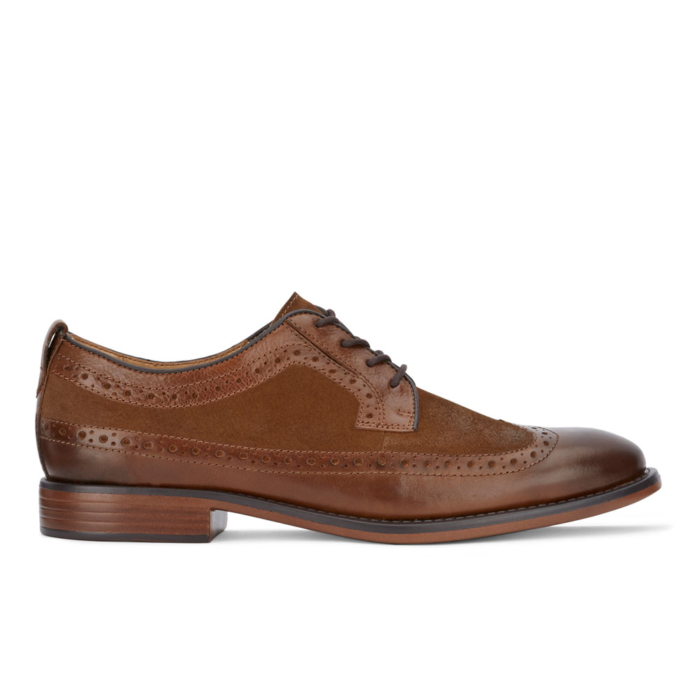 Dockers-Mens-Hausman-Genuine-Leather-Business-Dress-Wingtip-Lace-up-Oxford-Shoe thumbnail 18