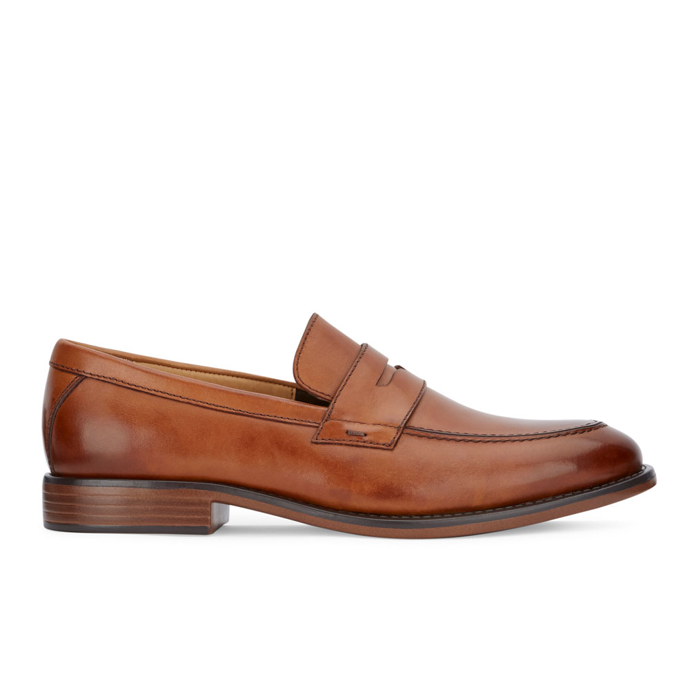 Dockers-Mens-Harmon-Genuine-Leather-Business-Dress-Penny-Slip-on-Loafer-Shoe thumbnail 18