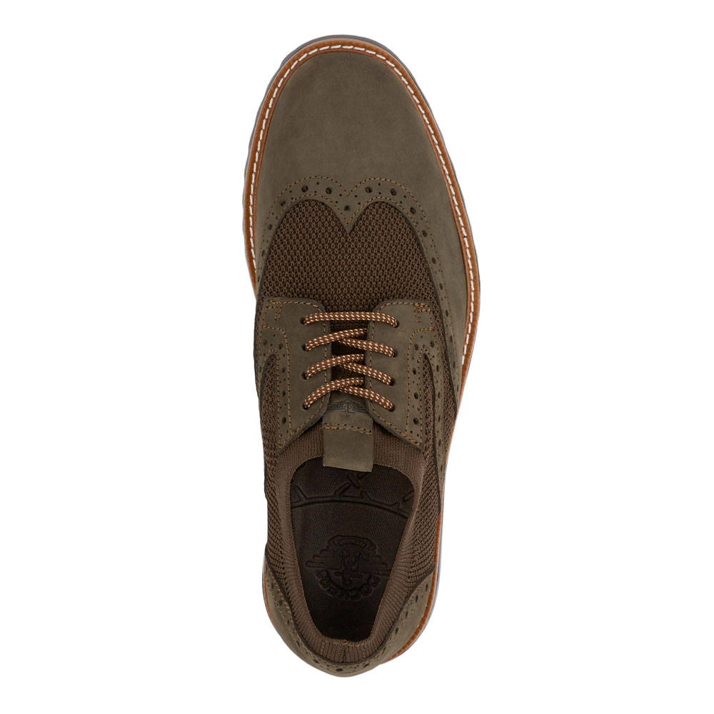 Dockers-Mens-Hawking-Knit-Leather-Dress-Casual-Wingtip-Oxford-Shoe-with-NeverWet thumbnail 32
