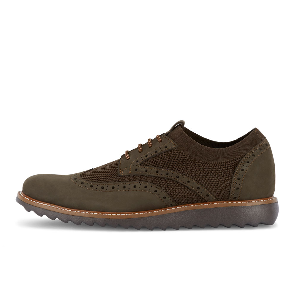 Dockers-Mens-Hawking-Knit-Leather-Dress-Casual-Wingtip-Oxford-Shoe-with-NeverWet thumbnail 35