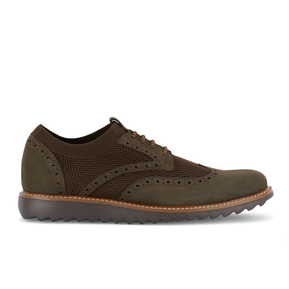 Dockers-Mens-Hawking-Knit-Leather-Dress-Casual-Wingtip-Oxford-Shoe-with-NeverWet thumbnail 36