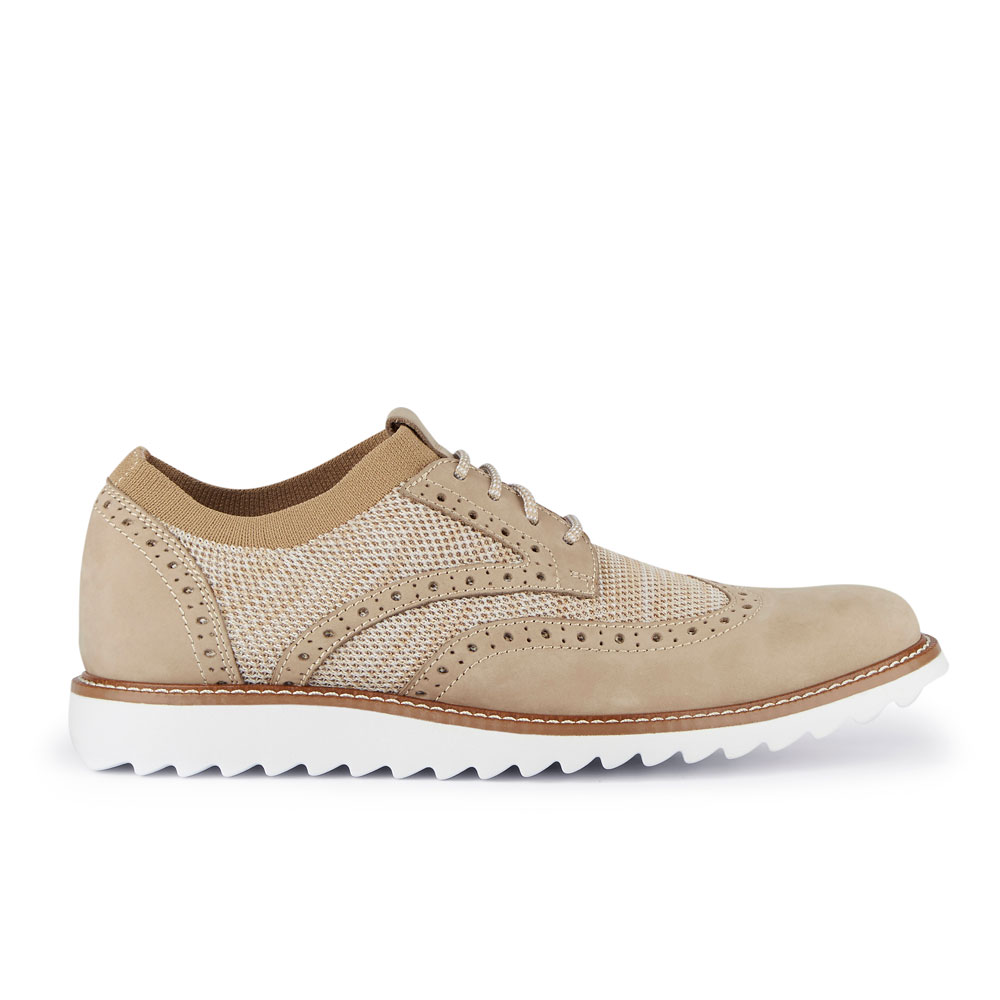 Dockers-Mens-Hawking-Knit-Leather-Dress-Casual-Wingtip-Oxford-Shoe-with-NeverWet thumbnail 30