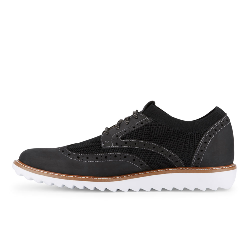 Dockers-Mens-Hawking-Knit-Leather-Dress-Casual-Wingtip-Oxford-Shoe-with-NeverWet thumbnail 11