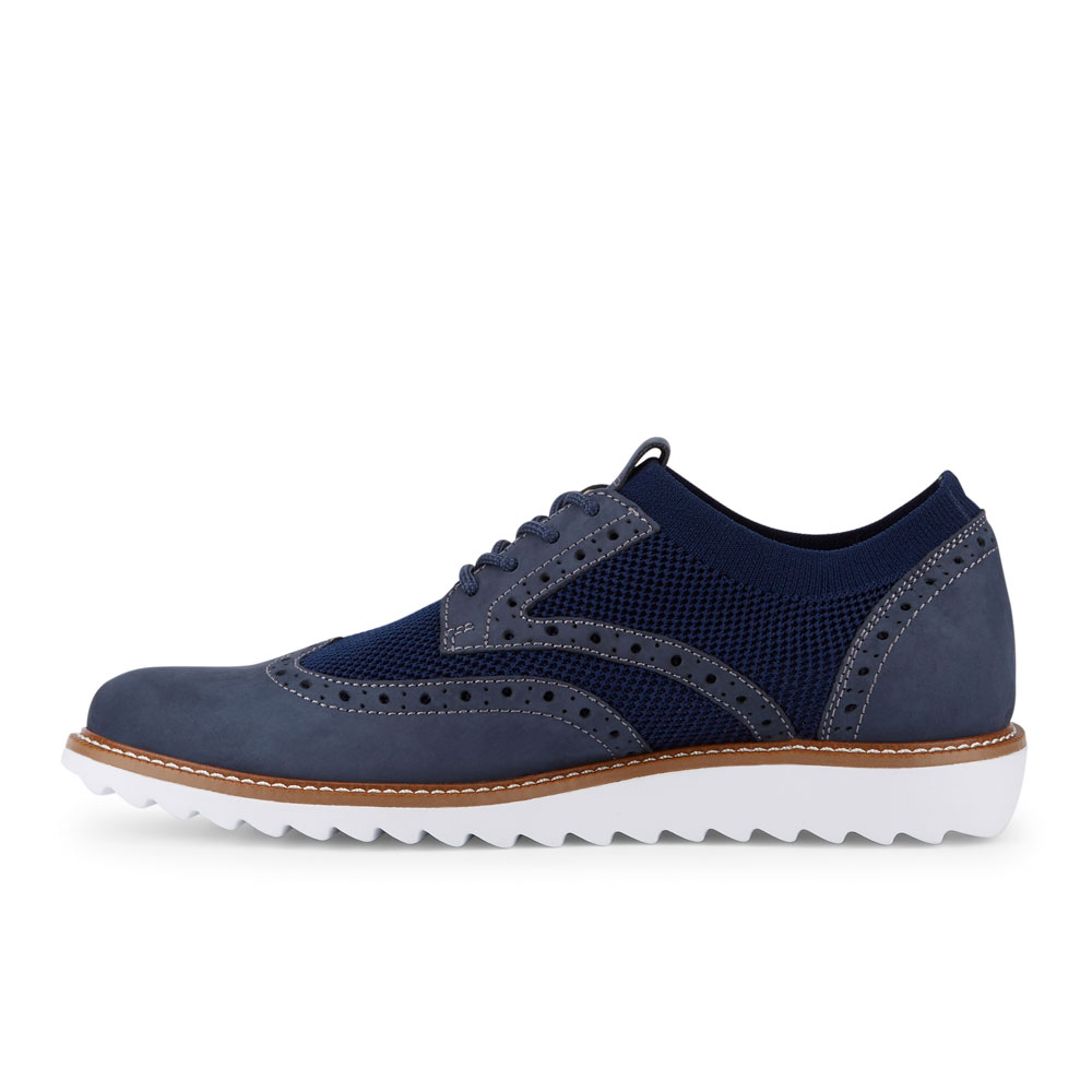 Dockers-Mens-Hawking-Knit-Leather-Dress-Casual-Wingtip-Oxford-Shoe-with-NeverWet thumbnail 23