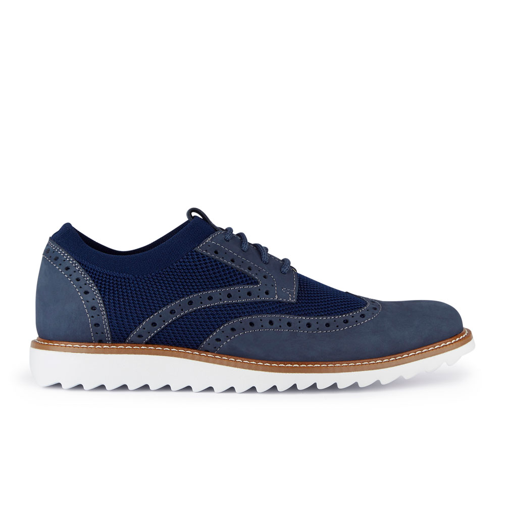 Dockers-Mens-Hawking-Knit-Leather-Dress-Casual-Wingtip-Oxford-Shoe-with-NeverWet thumbnail 24