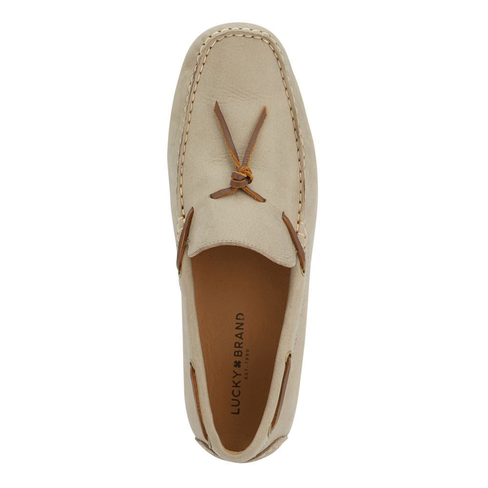 Lucky-Brand-Mens-Wagner-Leather-Sale-Slip-on-Loafer-Rubber-Sole-Driver-Shoe thumbnail 8