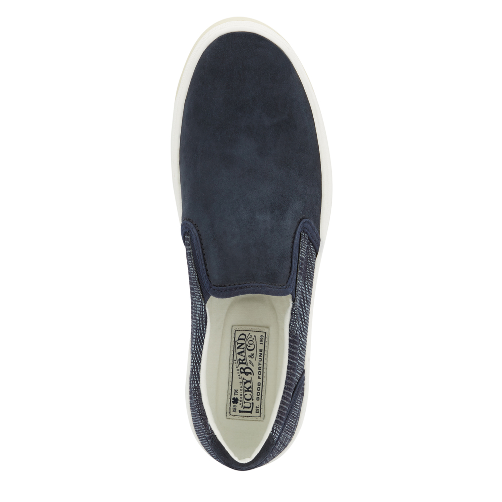 Lucky-Brand-Mens-Styles-Breathable-Textile-Slip-on-Rubber-Outsole-Sneaker-Shoe thumbnail 26