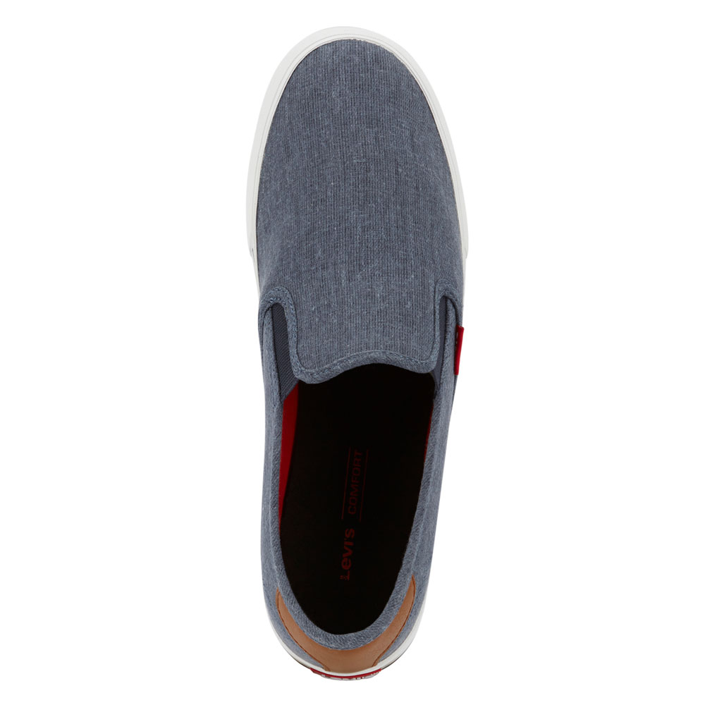 Levi-039-s-Mens-Seaside-CT-L-Casual-Rubber-Sole-Slip-On-Sneaker-Shoe thumbnail 26