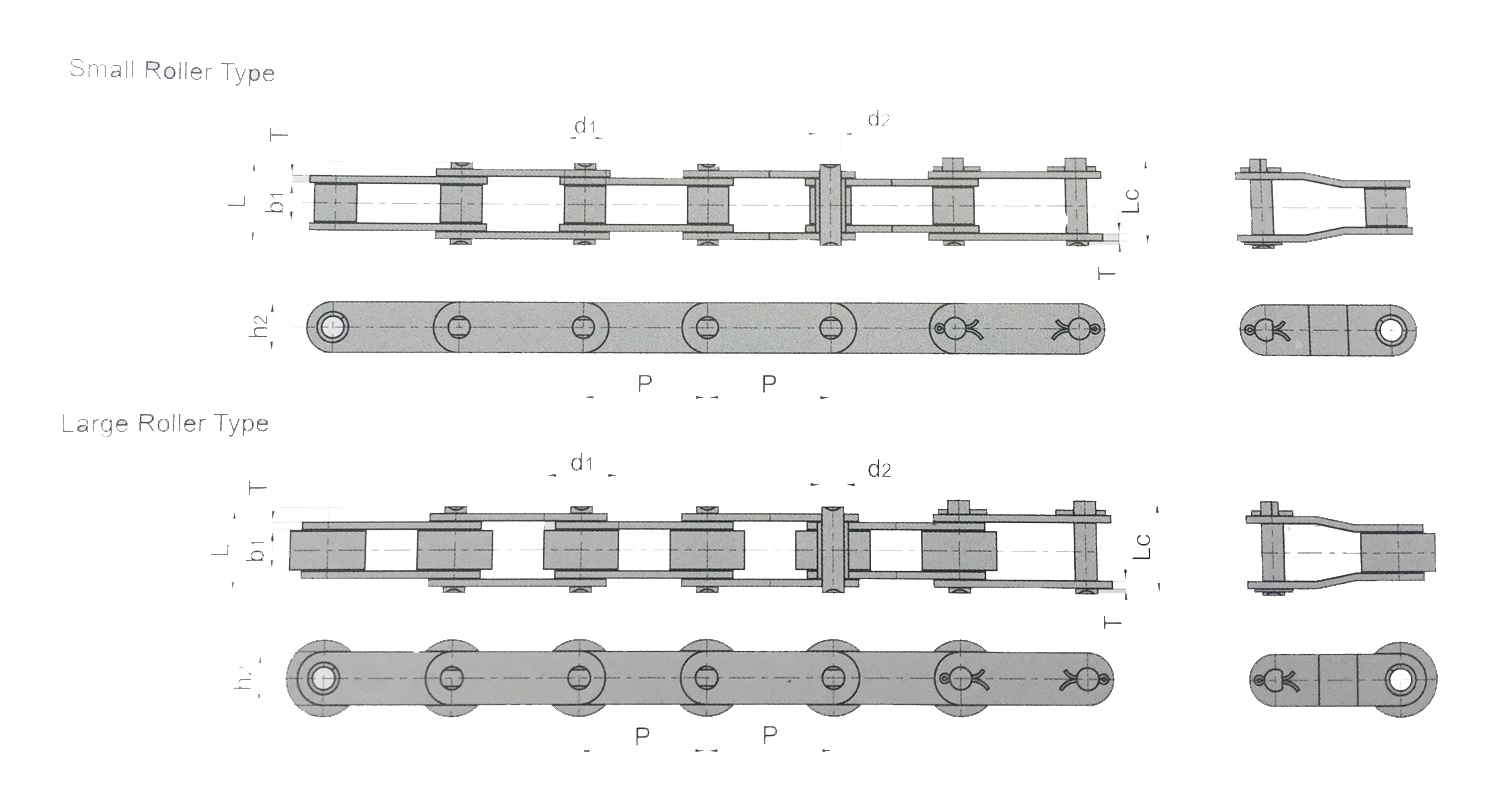 10PCS C2040 Conveyor Roller Chain Connecting Link