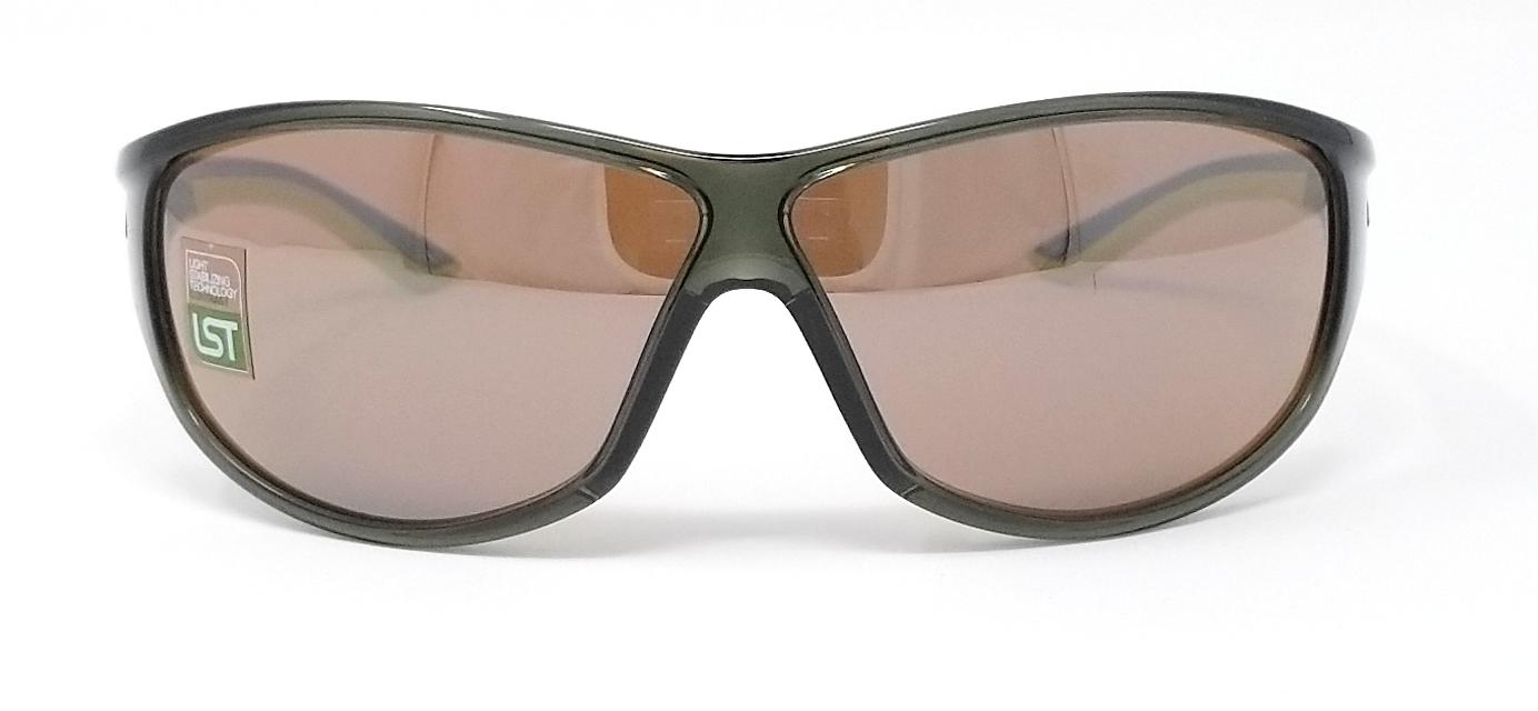 f18b58e2cb61 Adidas Sunglasses Daroga A416 6050 Transparent Green Lime/Contrast Silver  Brown