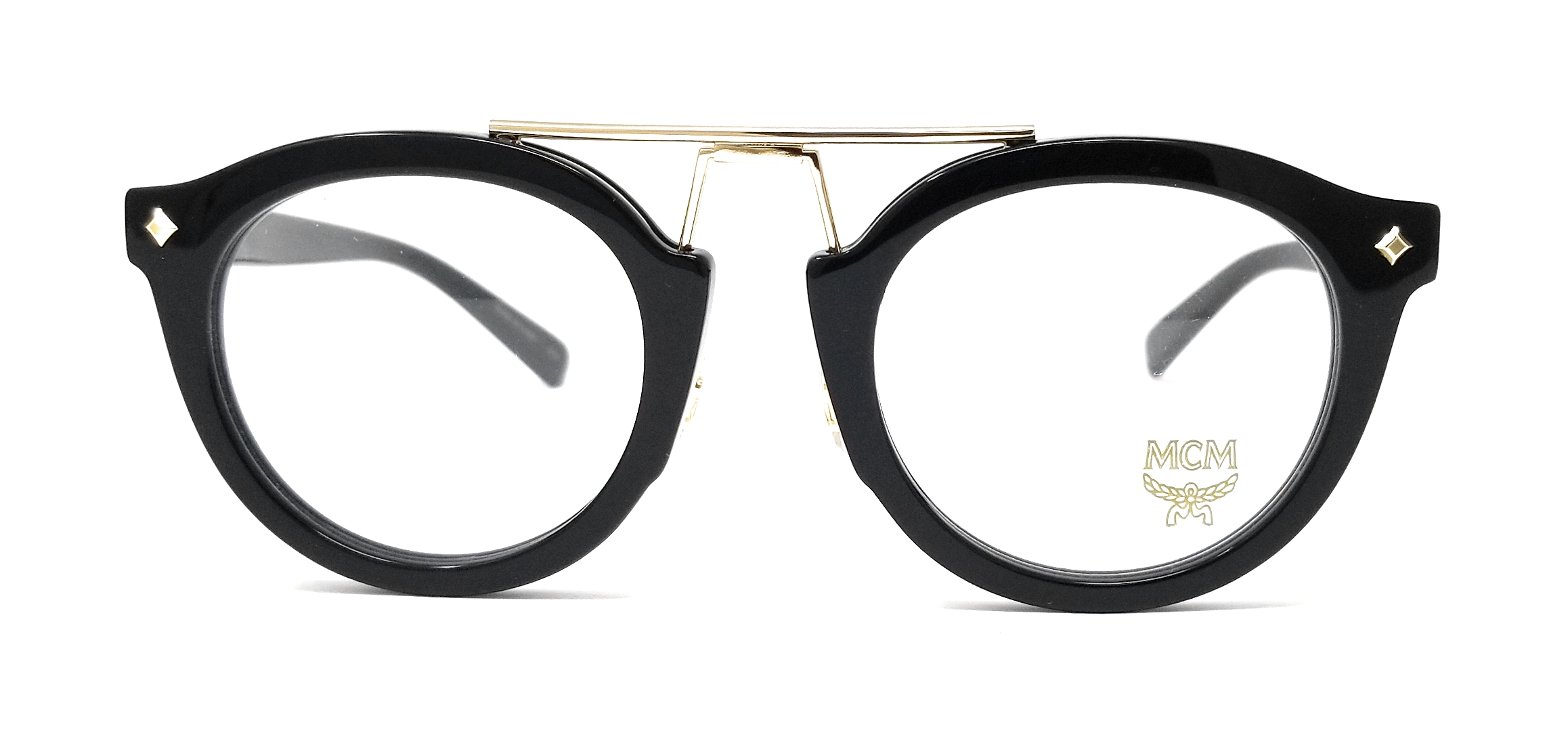 c5a071e5bc MCM Eyeglasses MCM2642 001 Black Round Unisex 49mm 886895296748