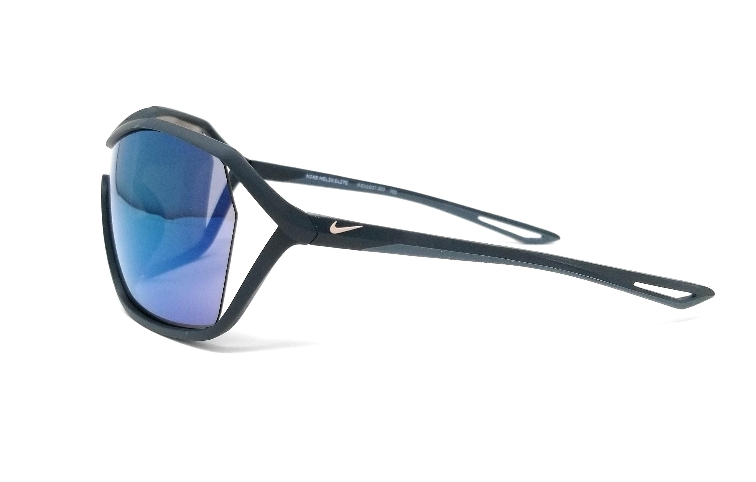 446d03cc1e NIKE Sunglasses HELIX ELITE M EV1037 303 Matte Seaweed Shield 73x09x120