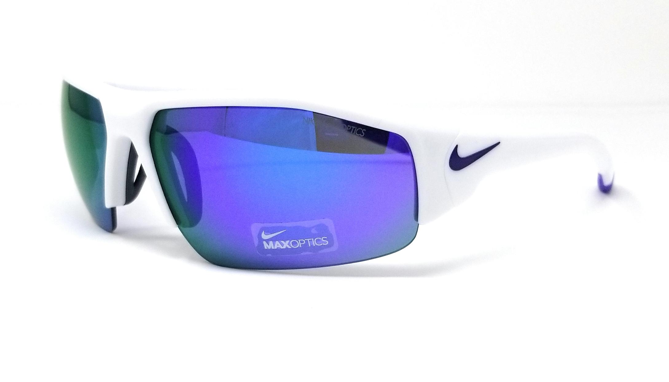 8770476766 NIKE Sunglasses SKYLON ACE XV M EV0859 105 White Rectangle 75x14x130 ...