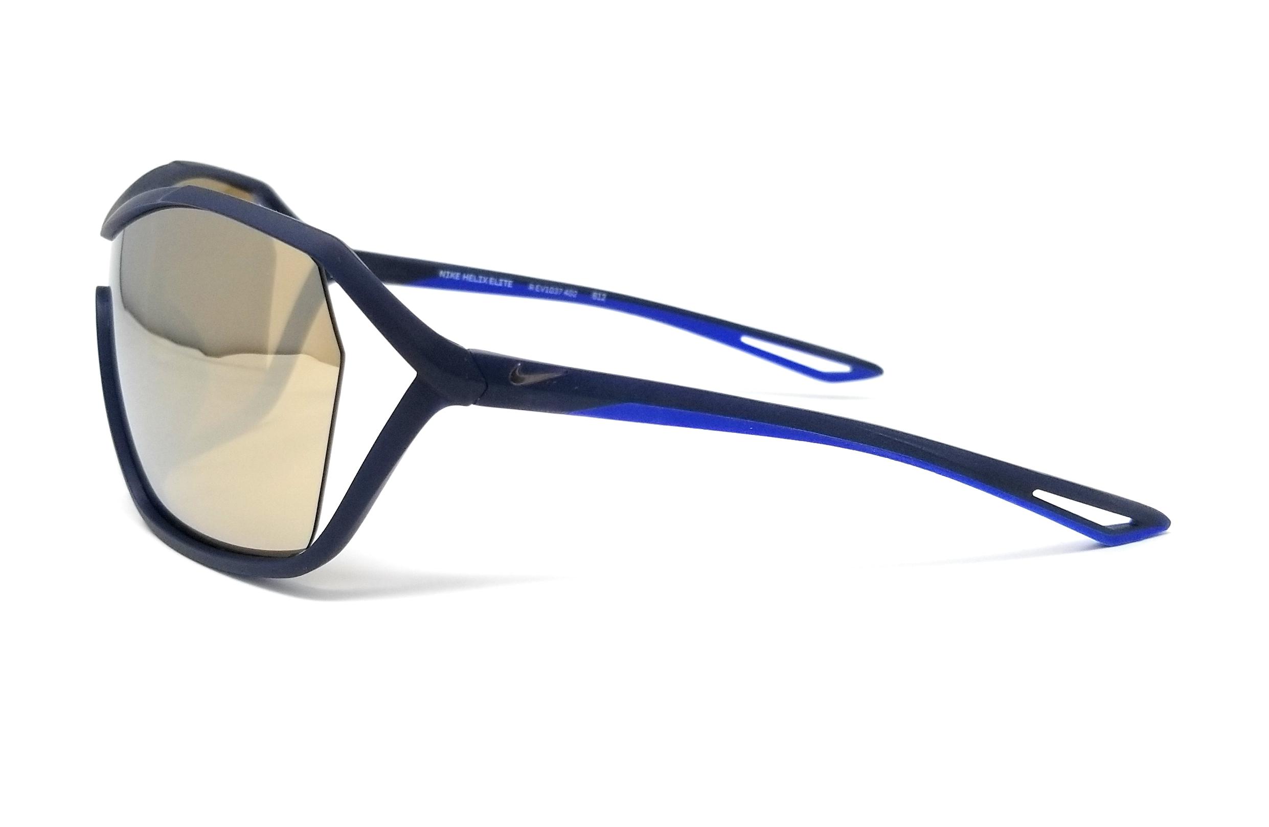 369df320650 NIKE Sunglasses HELIX ELITE M EV1037 402 Obsidian Shield 73x09x120 ...
