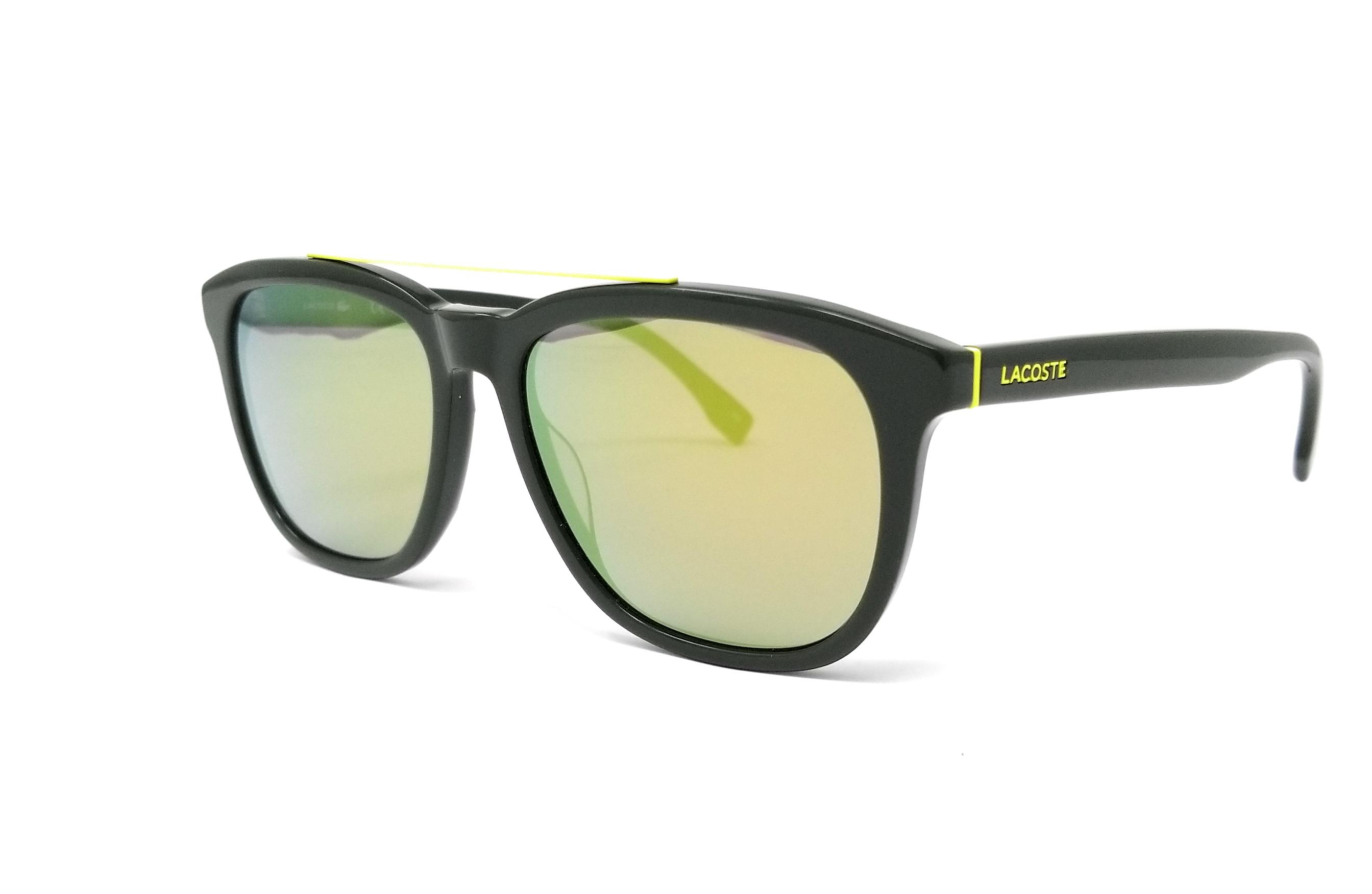 58c17e32fbc LACOSTE Sunglasses L822S 315 Green Rectangle 55x16x145 886895278577 ...