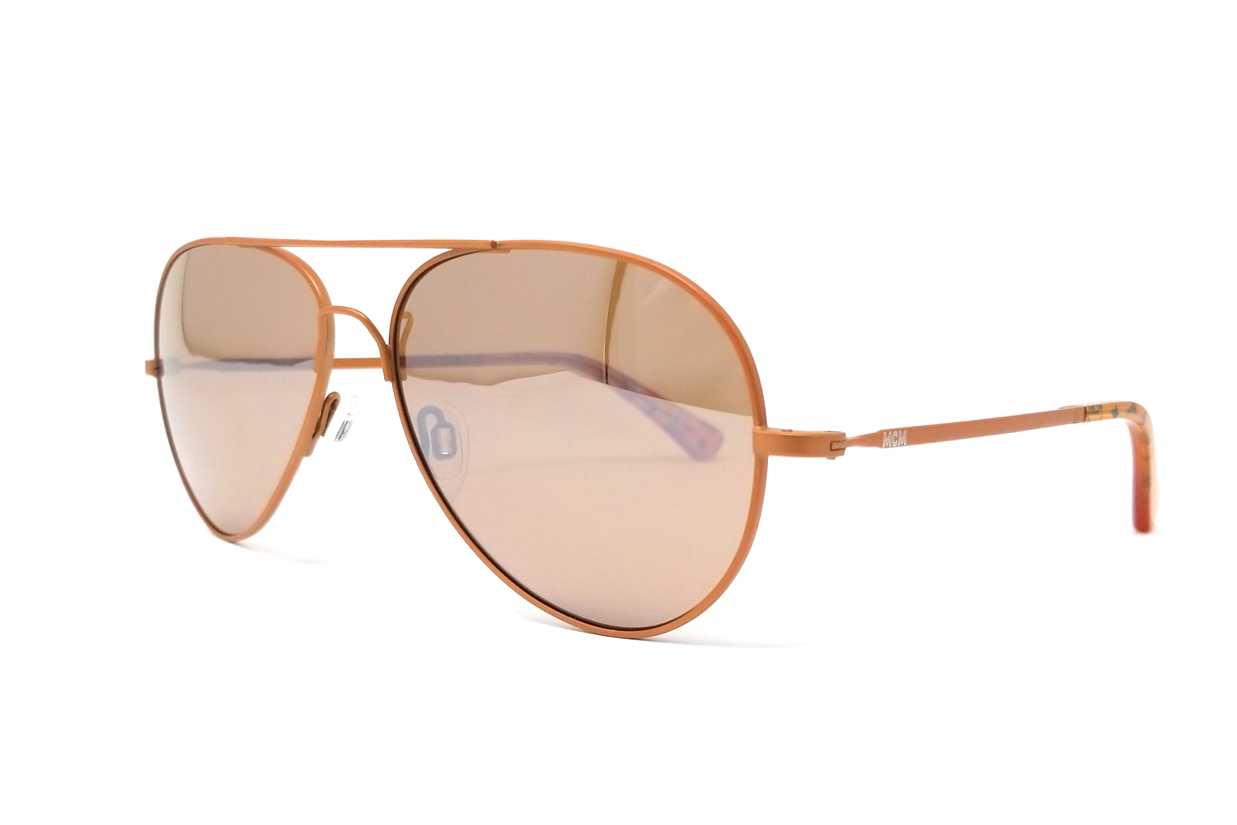 c71694f65f143 MCM Sunglasses MCM100S 260 Matte Cognac Flexon Aviator 59x15x140. Item  Description. Brand  MCM  Model  MCM100S  Condition  New  Gender  Unisex  Frame  Color  ...