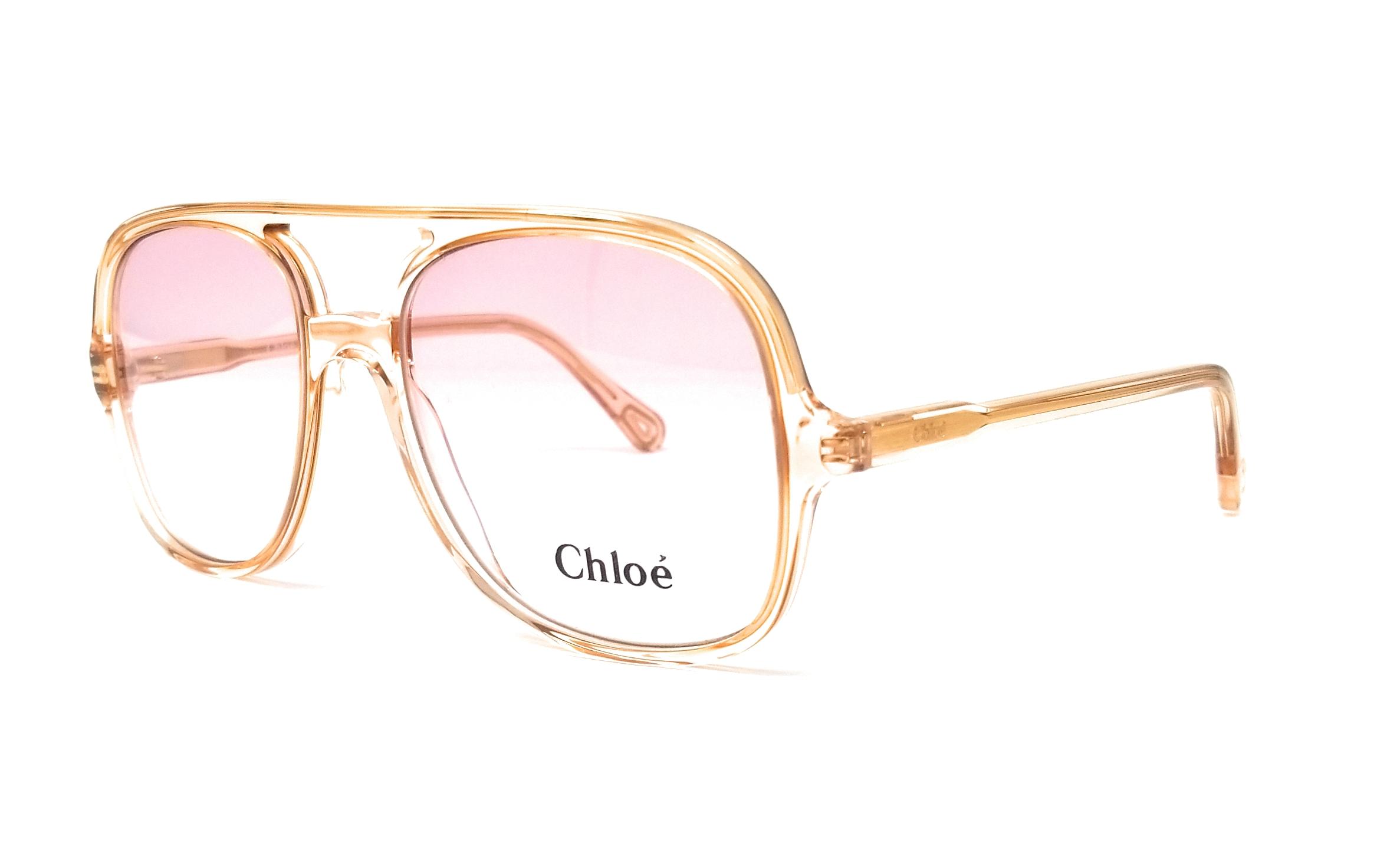 35b264ea484cb CHLOE Eyeglasses CE2722 749 Peach Navigator 56x17x140 886895326032 ...