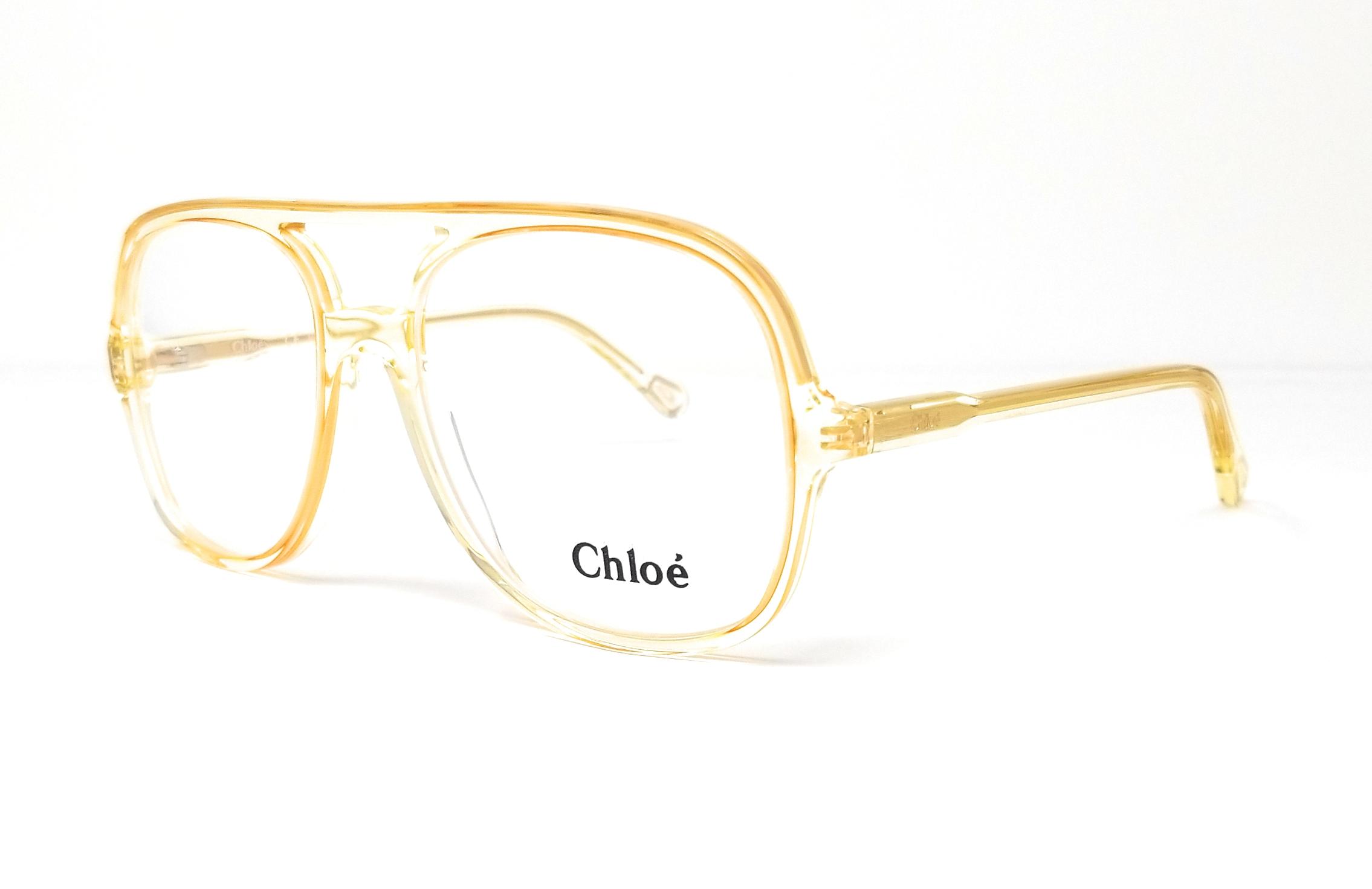 b7486e8b7280 CHLOE Eyeglasses CE2722 799 Yellow Navigator 56x17x140 886895326025 ...