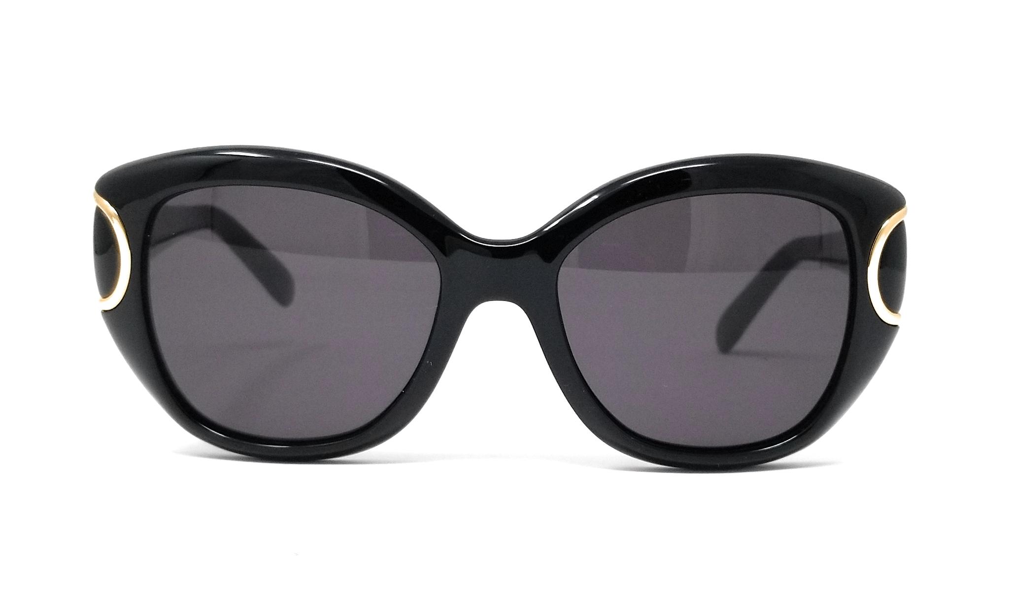 c04b7a4b5b Salvatore Ferragamo Sunglasses SF819S 001 Black Rectangle 54x18x140 ...