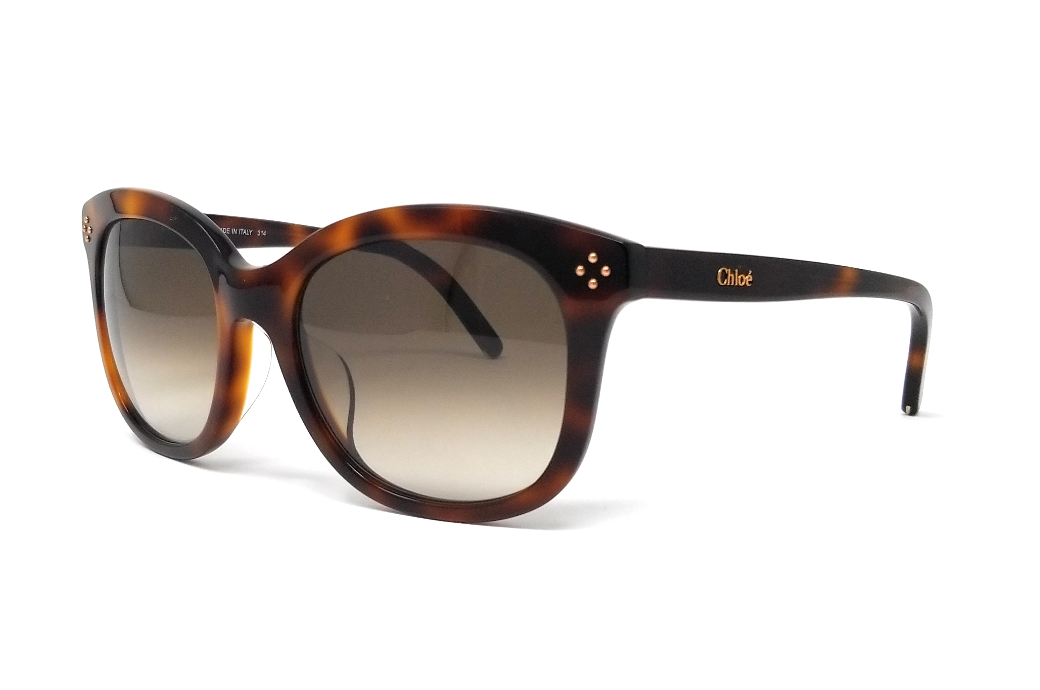 69efaa41b71 Details about CHLOE Sunglasses CE669SA 219 Tortoise Cat Eye Women s  56x20x140