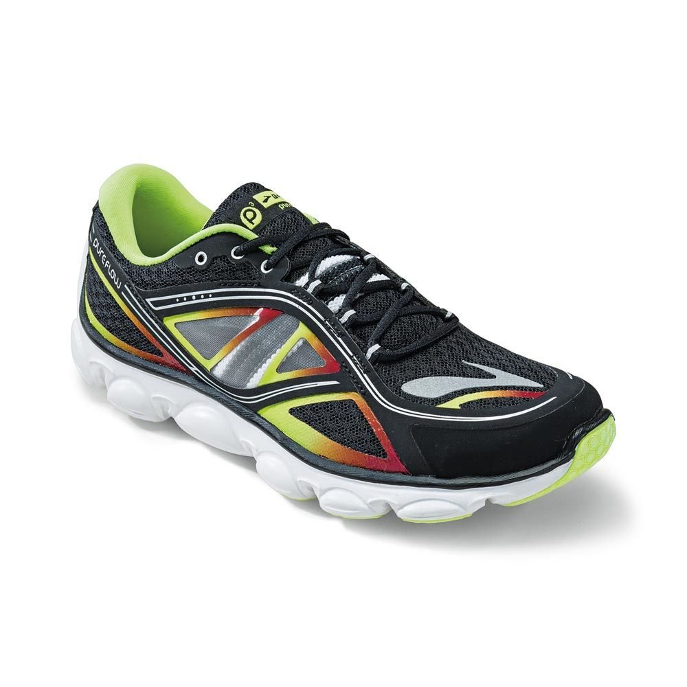 1858d33b4528d Brooks PureFlow 3 Junior Running Shoes - Black Blazing Yellow White ...