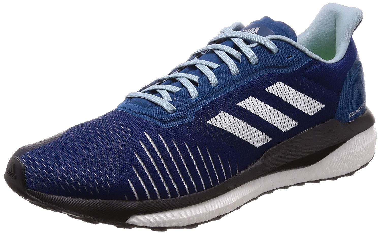 comprar online disfruta el precio más bajo Calidad superior Adidas Mens Solar Drive ST Road Blue Running Gym Shoes