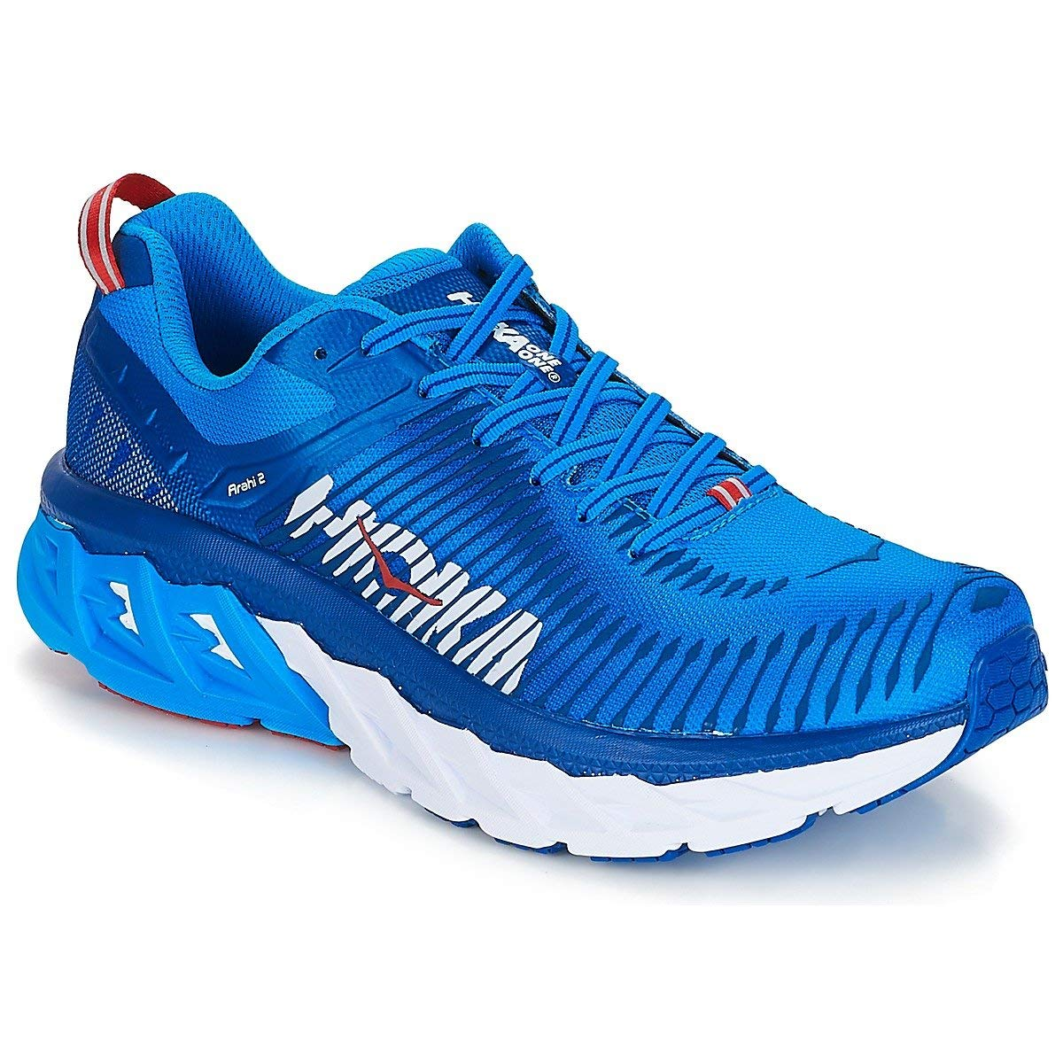 Details about Hoka One One Mens Arahi 2 Trail Off Road Running Shoes  Sneakers Blue 193932899bc