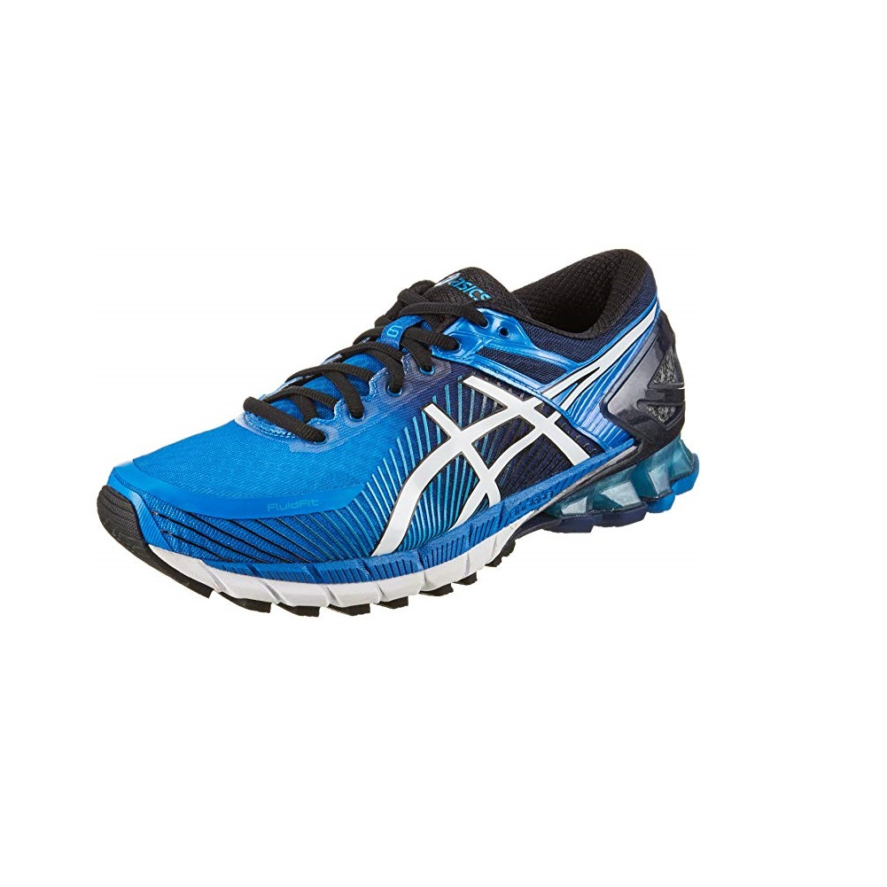 Details about Asics Mens GEL-Kinsei 6 Running Shoes Trainers Sneakers Blue  White 98b162f4a498