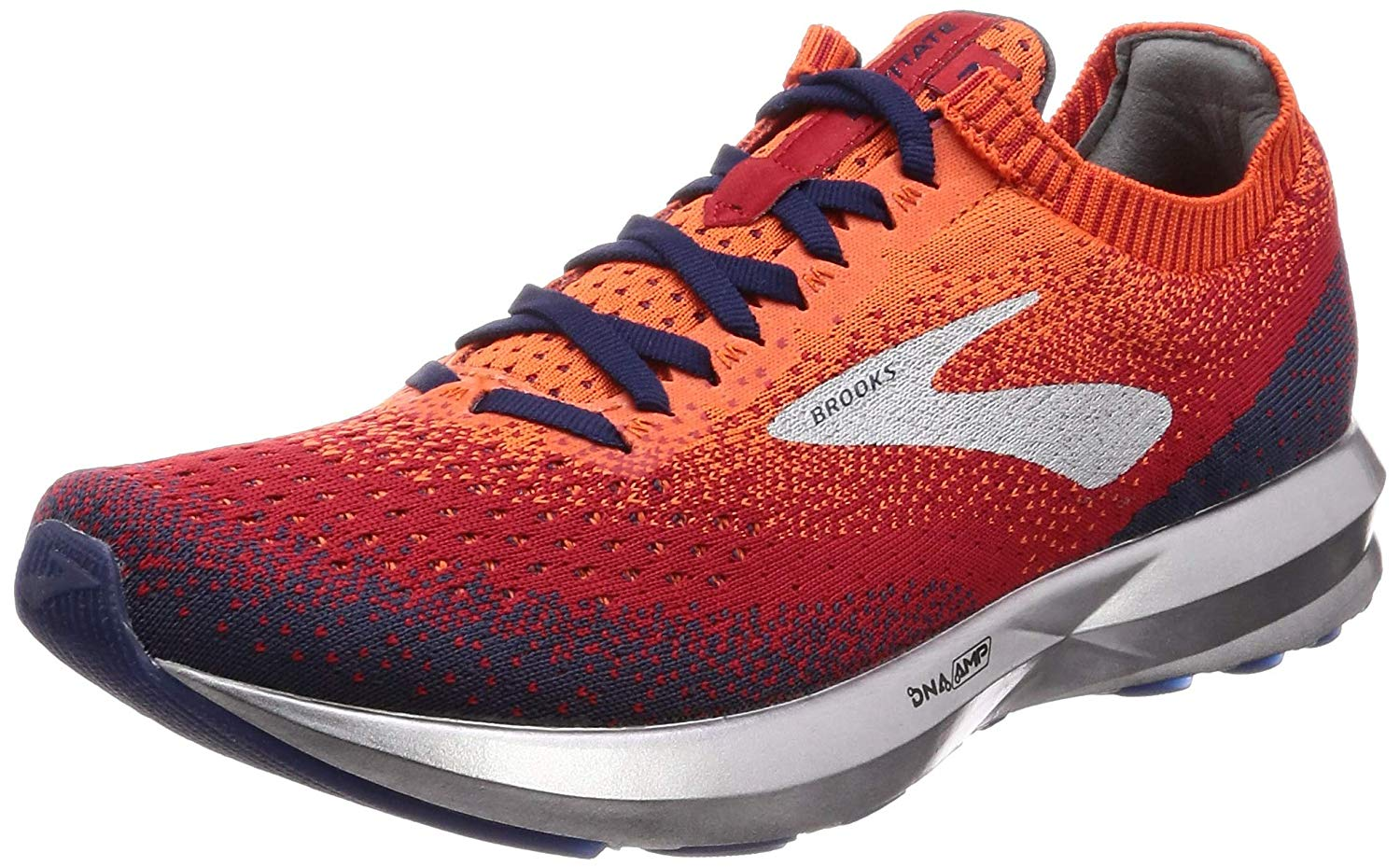 544c6aaca42 Details about Brooks Mens Levitate 2 Orange Trainers Gym Sports Running  Shoes
