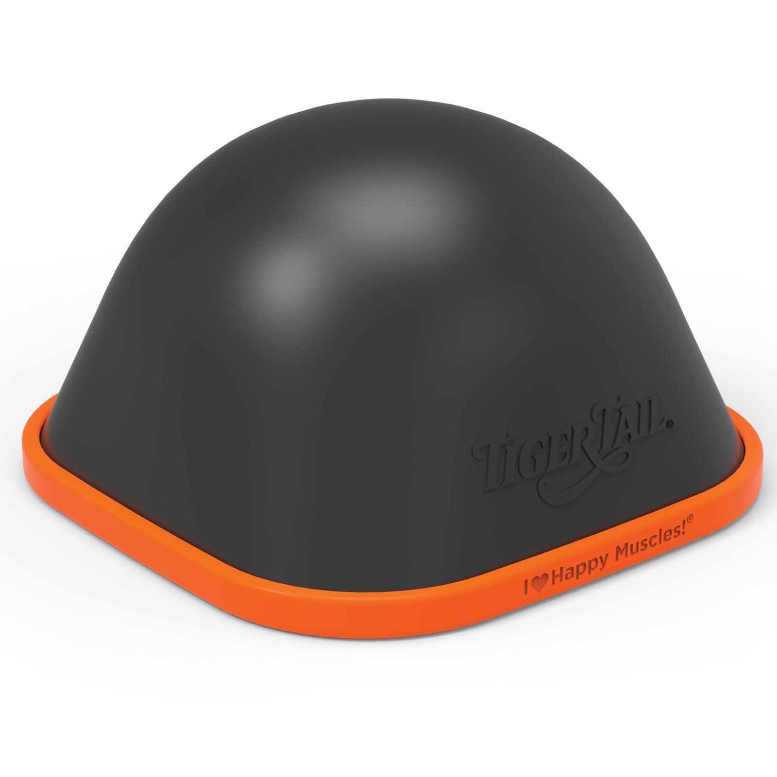 Tiger Tail Unisex The Big One Foam Roller Black Orange Sports Physio Gym Soccer