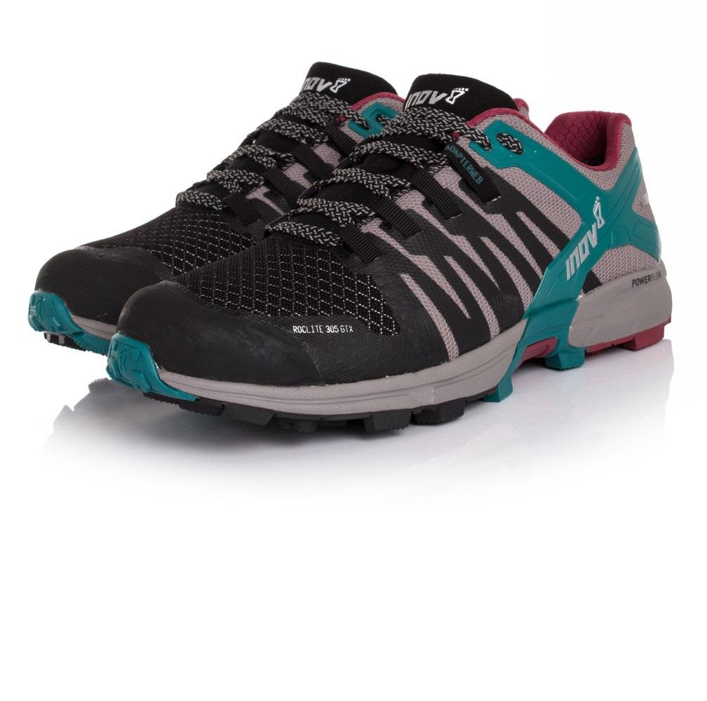 5 Us gry mujer para correr 6 correr Zapatos para Eu para 36 negro azul Uk Inov8 Gtx 3 305 Roclite gqTx6z