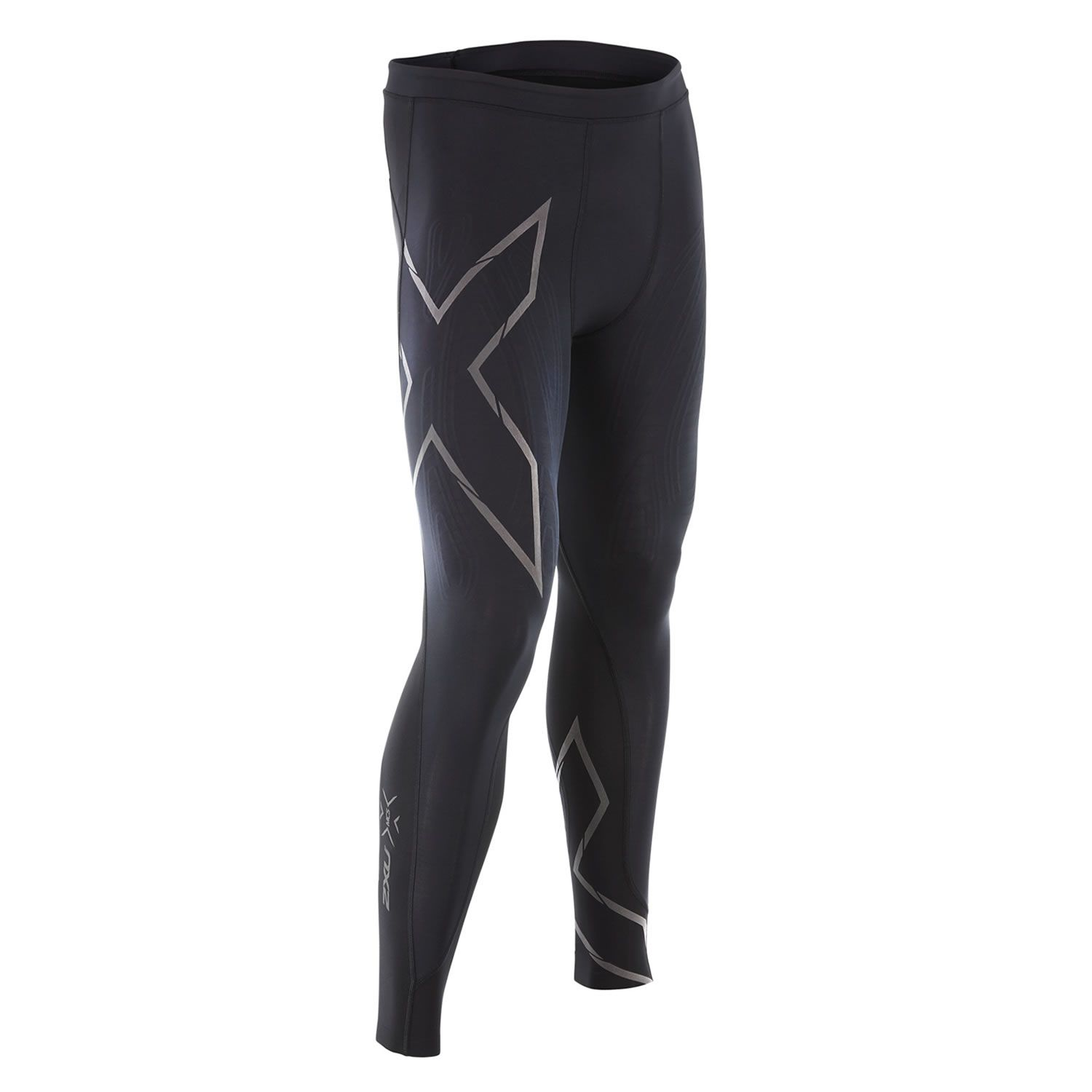 a23b2c9021a50 2XU Men's MCS Run Compression MA4411 Comp Tights, Black/Nero, Large ...
