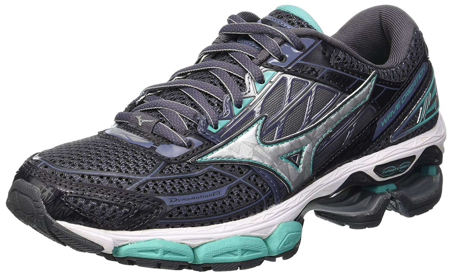 Mizuno Womens Wave Creation 19 Running Shoes Trainers Sneakers Gym ... 28e8789530d