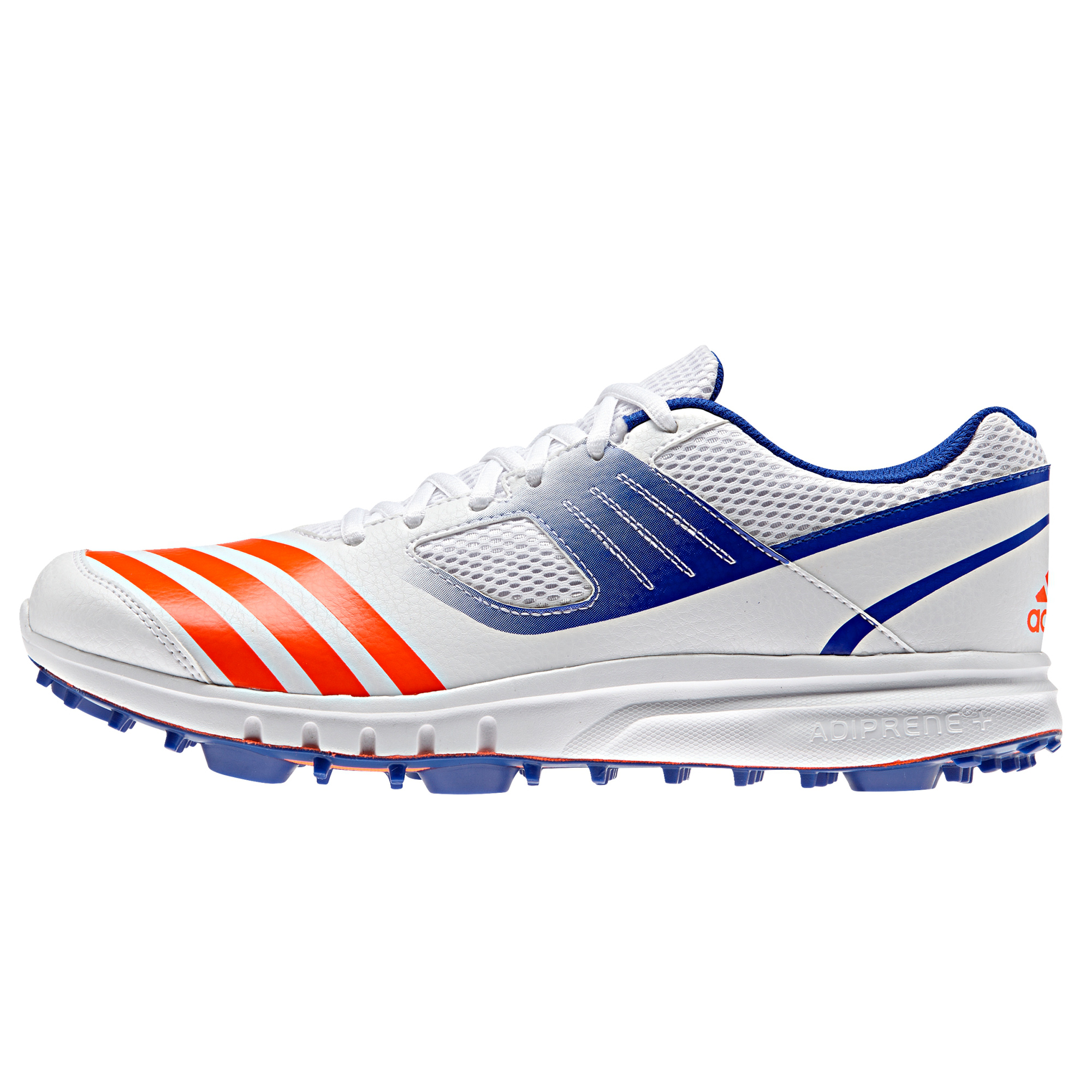 0d269f40b5f adidas Junior Howzat FS V Cricket Spikes Shoes White Sports ...