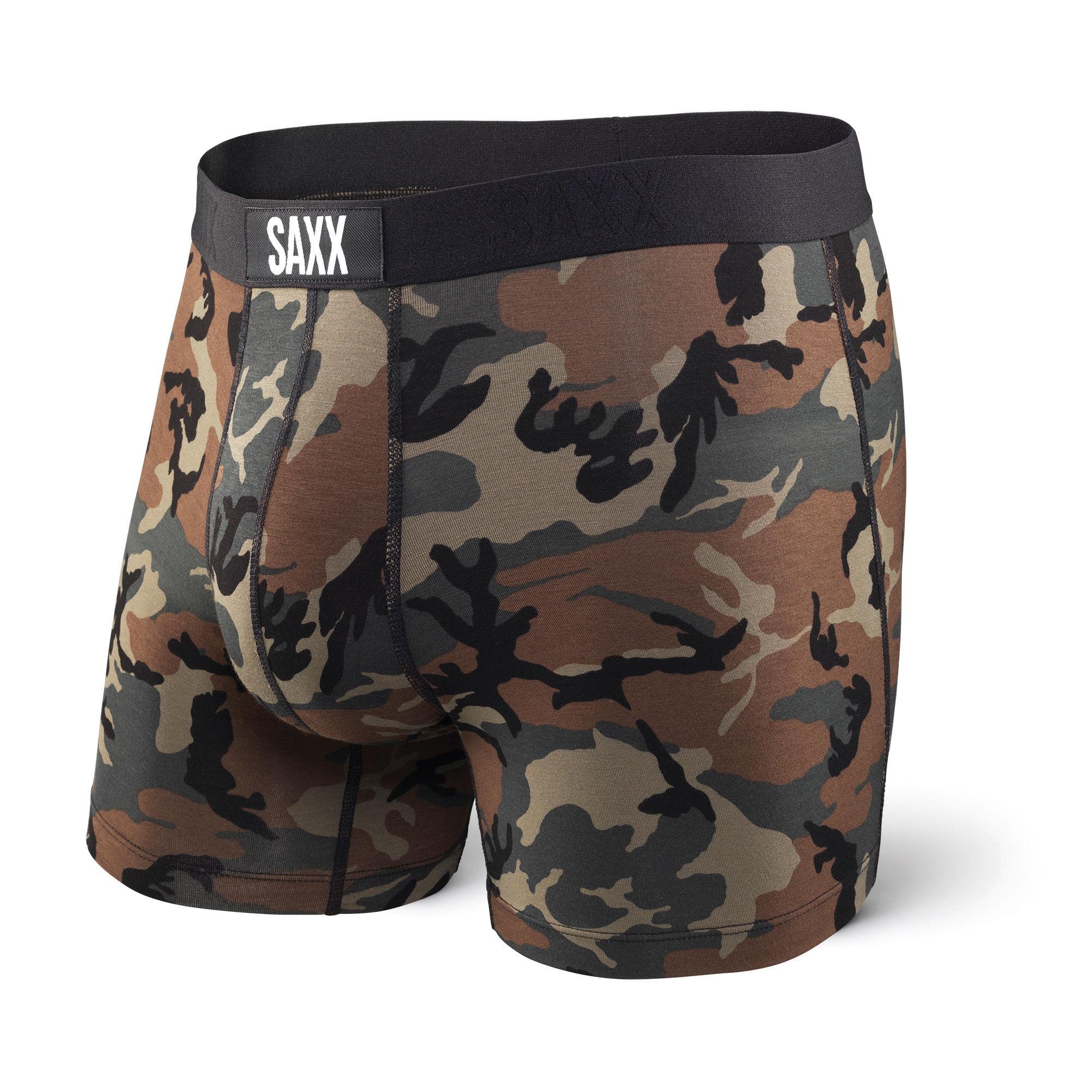 SAXX Vibe Everyday Boxer Brief Woodland Camo