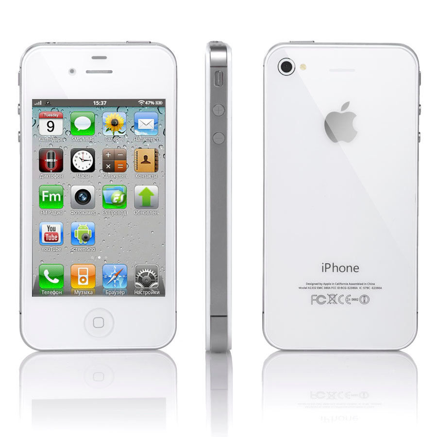 Details about iPhone 4 8GB White (Sprint) Fair Condition 4776014ff7