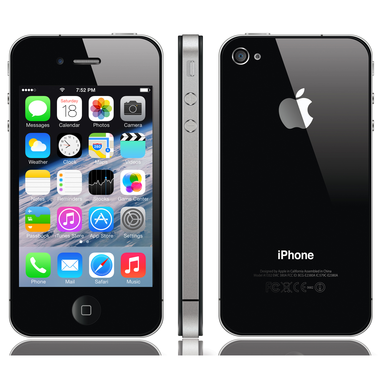 iphone 4s 8gb black verizon refurbished 885909832774 ebay rh ebay com apple iphone 4s user manual pdf download apple iphone 4s manual pdf download