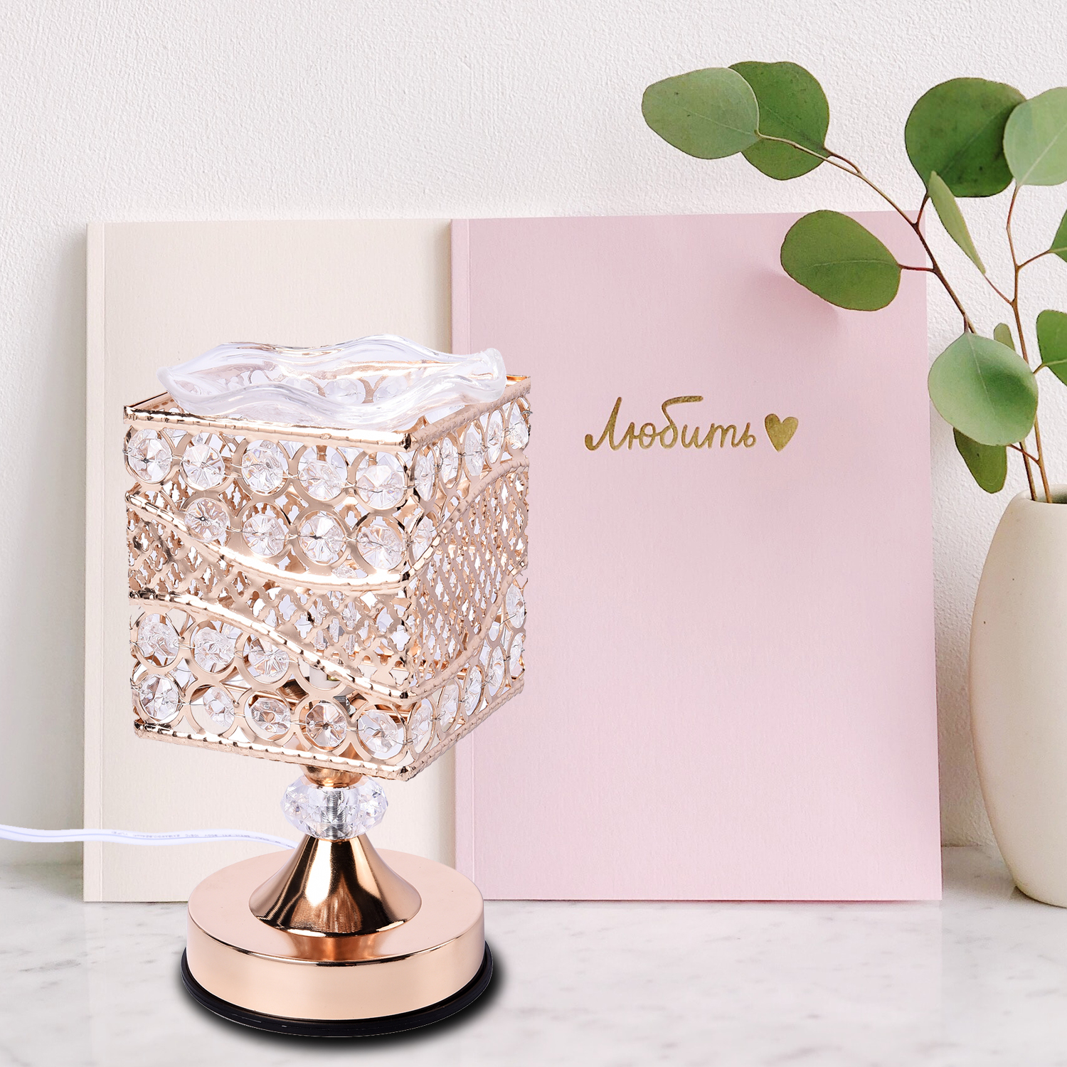 thumbnail 9 - Home Decor Gold Color Iron Design G Table Lamp with UL Plug Bulb G5 Included