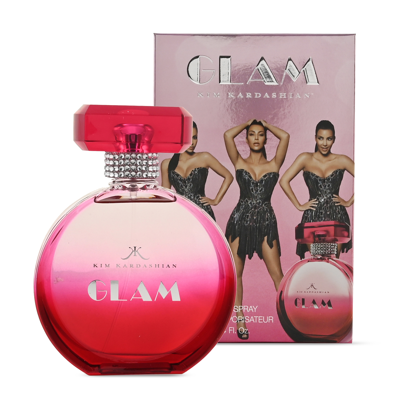 KIM KARDASHIAN GLAM Eau De Perfume Spray Long Lasting Fragrance 50 ml/ 1.7 Fl Oz