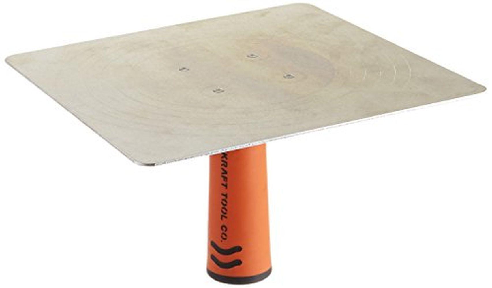 10 x 10-Inch 10 x 10-Inch Kraft Tool PL261PF Magnesium Hawk with ProForm Soft Grip Handle