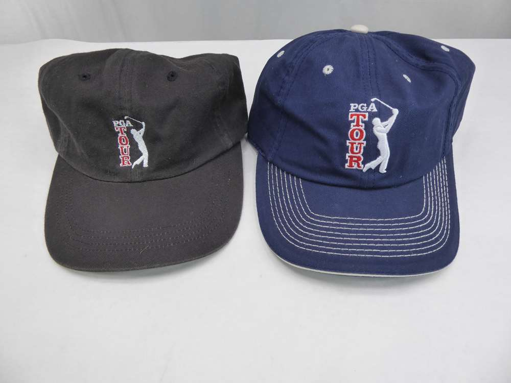 NOS - PGA TOUR - Black - Golf Hat   Navy - Ball Cap - FREE SHIPPING ... 1baba968d30