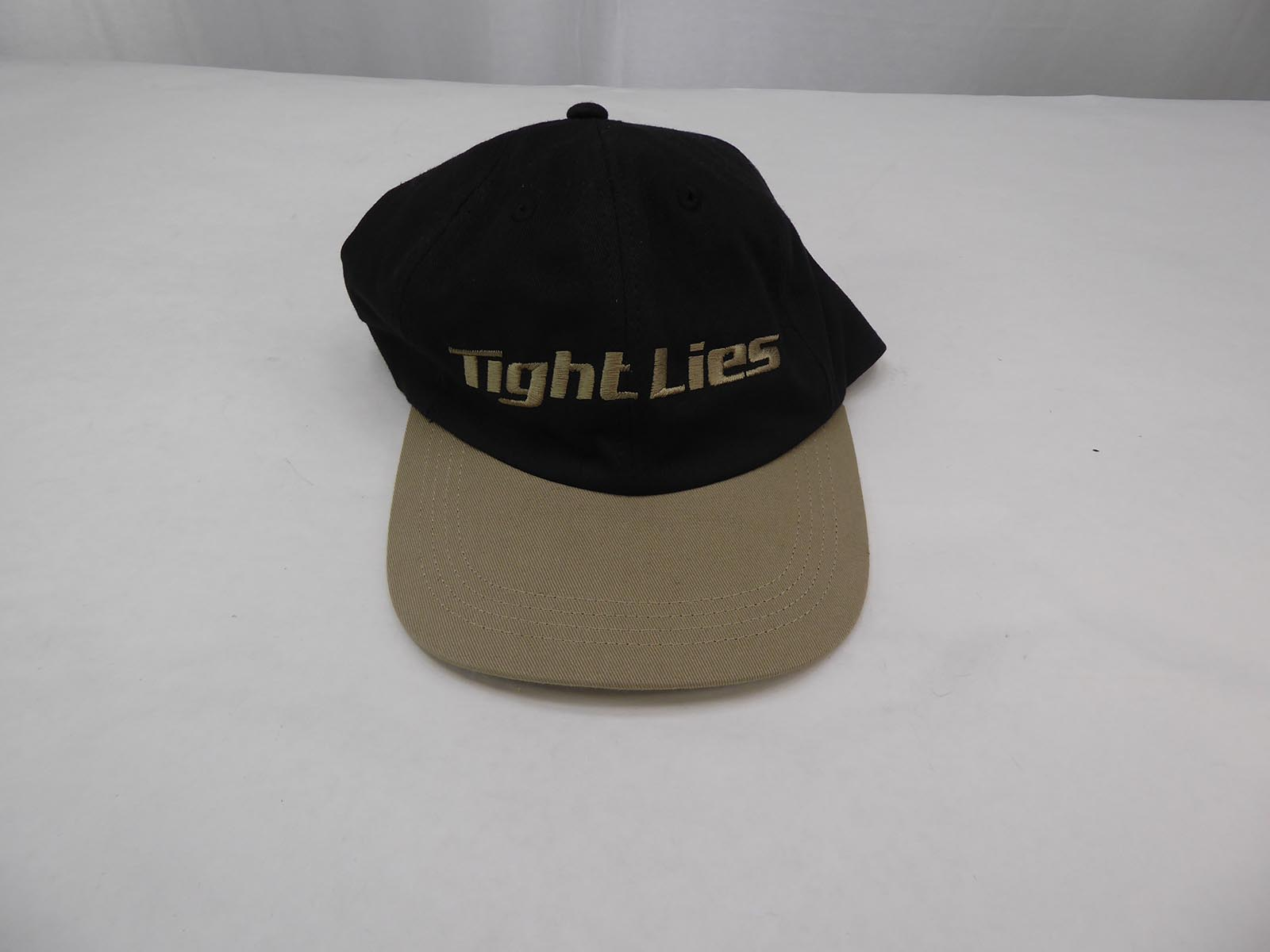 New Old Stock Adams Golf Tight Lies Hat Black Khaki Adjustable - One Size  Fits All Embroidered Made in USA! 250BK Might have some minor shelf wear dbd53ece44c